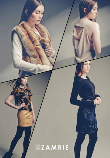 Zamrie designer Ashley Zygmunt is inspired by her grandparents for Fall 2012