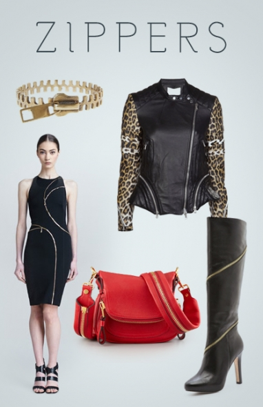 Get the Look: Zippers