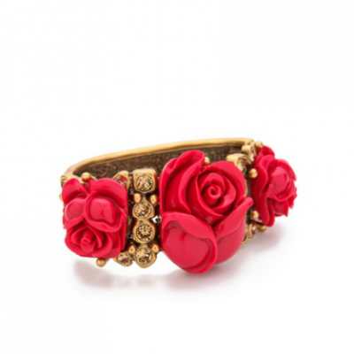 Lavish Rose Cuff | LadyLUX - Online Luxury Lifestyle, Technology and Fashion Magazine