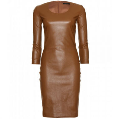 Timeless Leather Dress