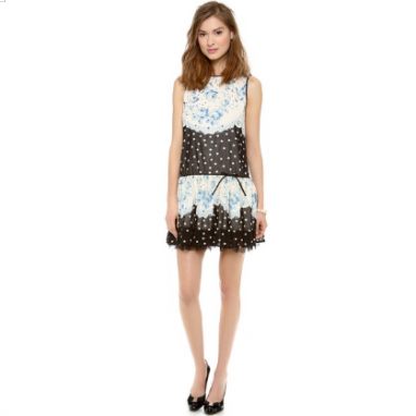 Girly Polka Dot Dress