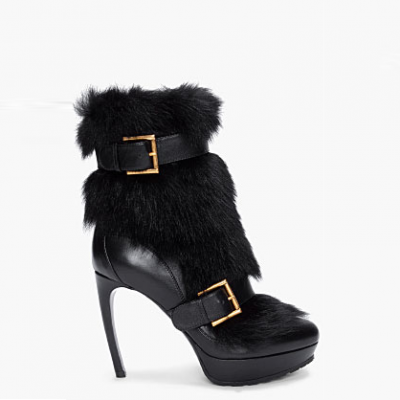 Fur Ankle Boots | LadyLUX - Online Luxury Lifestyle, Technology and Fashion Magazine