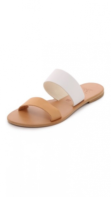 Two-Tone Dual Band Sandal