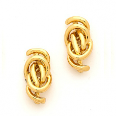 Intricate Knot Earrings