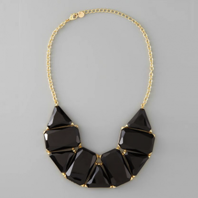 Black Bib Necklace | LadyLUX - Online Luxury Lifestyle, Technology and Fashion Magazine