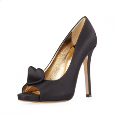 Heart Satin Pumps | LadyLUX - Online Luxury Lifestyle, Technology and Fashion Magazine