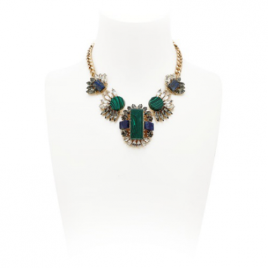 Statement Malachite Necklace
