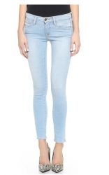 Gently Faded Skinny Jeans