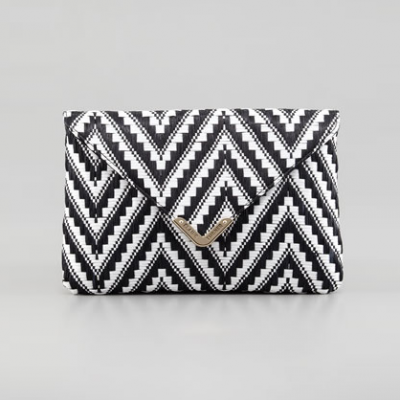 Zigzag Envelope Clutch | LadyLUX - Online Luxury Lifestyle, Technology and Fashion Magazine