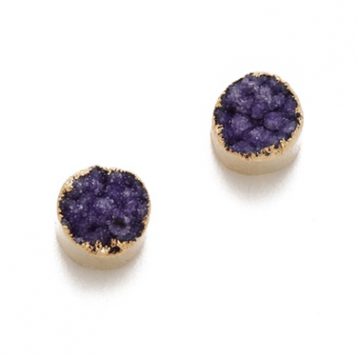 Agate Stud Earrings | LadyLUX - Online Luxury Lifestyle, Technology and Fashion Magazine