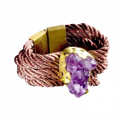 Amethyst Tiras Bracelet | LadyLUX - Online Luxury Lifestyle, Technology and Fashion Magazine