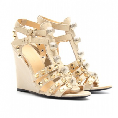 Studded Wedges | LadyLUX - Online Luxury Lifestyle, Technology and Fashion Magazine