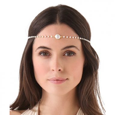 Romantic Pearl Headpiece