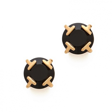 T Stud Earrings