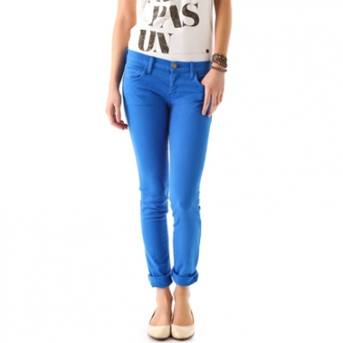 Rolled Skinny Jeans