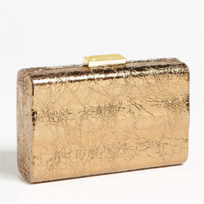 Metallic Box Clutch | LadyLUX - Online Luxury Lifestyle, Technology and Fashion Magazine