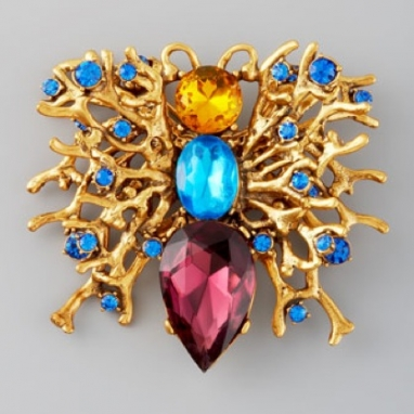 Fall 2012 trend: The brooch!