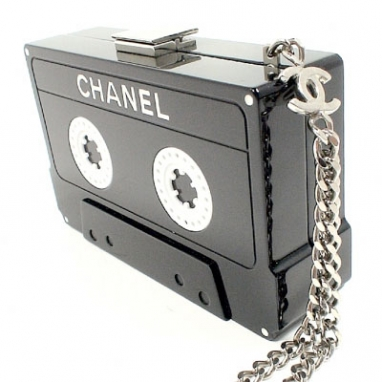 Chanel Lucite Clutch