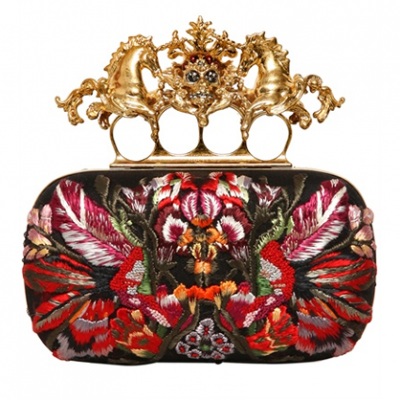 Flower Applique Knucklebox | LadyLUX - Online Luxury Lifestyle, Technology and Fashion Magazine