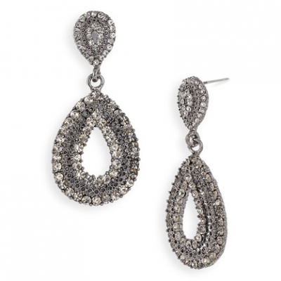 Teardrop Statement Earrings | LadyLUX - Online Luxury Lifestyle, Technology and Fashion Magazine