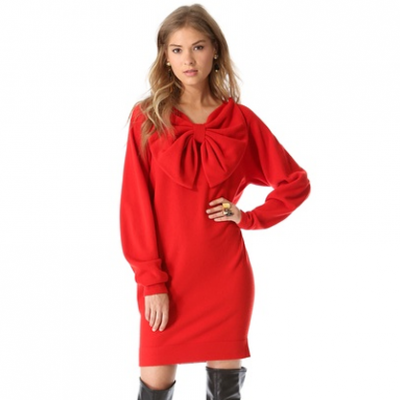 Red Bow Dress | LadyLUX - Online Luxury Lifestyle, Technology and Fashion Magazine