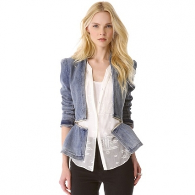 Denim Flare Jacket