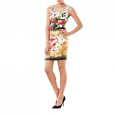 D&G Floral Print Dress | LadyLUX - Online Luxury Lifestyle, Technology and Fashion Magazine