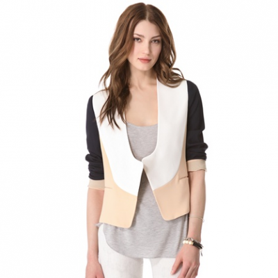 Colorblock Blazer | LadyLUX - Online Luxury Lifestyle, Technology and Fashion Magazine