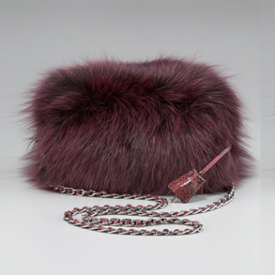 Fox Fur Clutch | LadyLUX - Online Luxury Lifestyle, Technology and Fashion Magazine