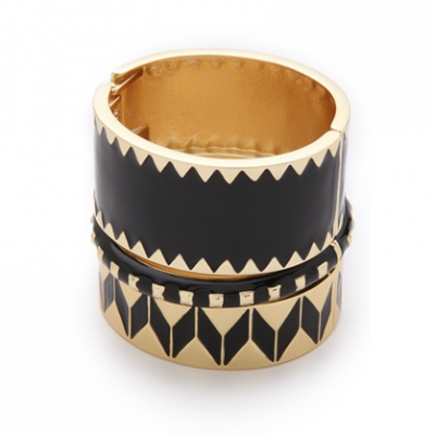 Geometric Bangle Set | LadyLUX - Online Luxury Lifestyle, Technology and Fashion Magazine