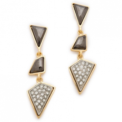 Geometric Drop Earrings | LadyLUX - Online Luxury Lifestyle, Technology and Fashion Magazine