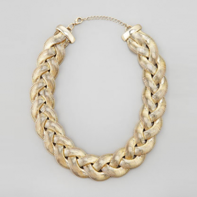 Braided Chain Necklace | LadyLUX - Online Luxury Lifestyle, Technology and Fashion Magazine
