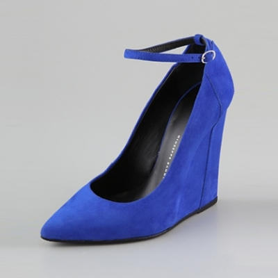 Suede Wedge Pumps | LadyLUX - Online Luxury Lifestyle, Technology and Fashion Magazine