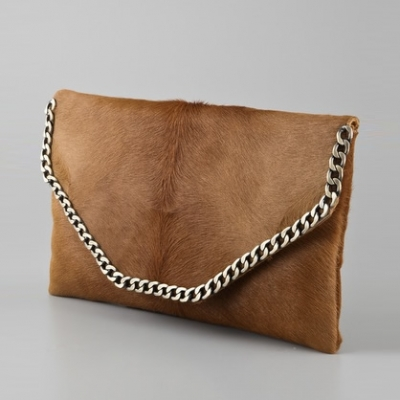 Haircalf Envelope Clutch | LadyLUX - Online Luxury Lifestyle, Technology and Fashion Magazine