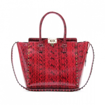 Red Snakeskin Tote | LadyLUX - Online Luxury Lifestyle, Technology and Fashion Magazine