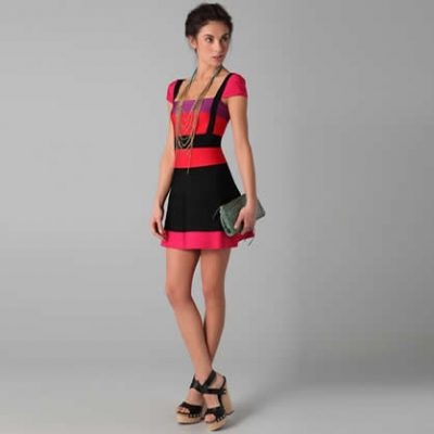 Colorblock Lola Dress | LadyLUX - Online Luxury Lifestyle, Technology and Fashion Magazine