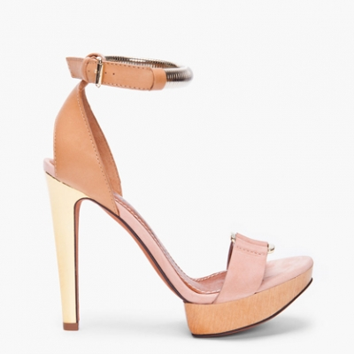 Peach Suede Sandals | LadyLUX - Online Luxury Lifestyle, Technology and Fashion Magazine
