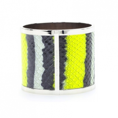 Anenome Leather Bangle | LadyLUX - Online Luxury Lifestyle, Technology and Fashion Magazine