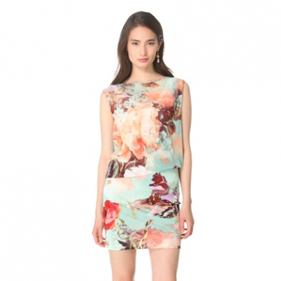 Floral Sleeveless Dress | LadyLUX - Online Luxury Lifestyle, Technology and Fashion Magazine
