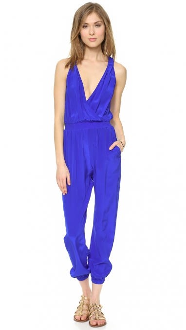 Trend: The Blue Jumpsuit