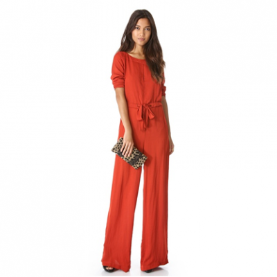 Slit Neck Jumpsuit | LadyLUX - Online Luxury Lifestyle, Technology and Fashion Magazine