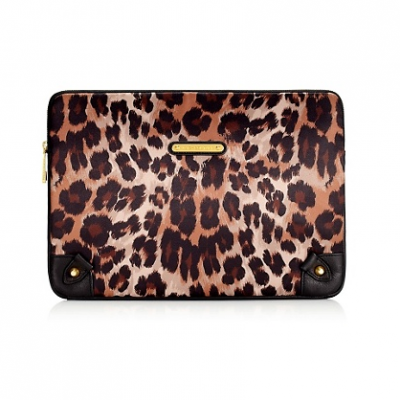 Leopard Print Laptop Sleeve | LadyLUX - Online Luxury Lifestyle, Technology and Fashion Magazine