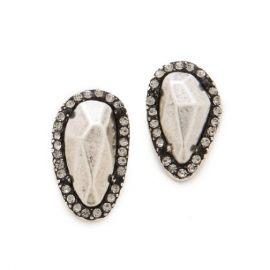 Rif Pebble Stud Earrings