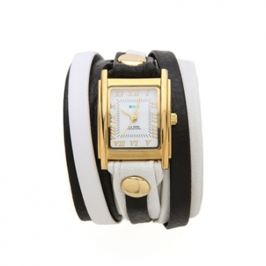 Square Case Wrap Watch