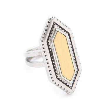 Textured Statement Ring