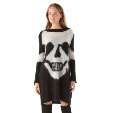 Skull Sweater Dress