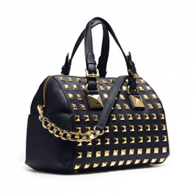 Studded Satchel | LadyLUX - Online Luxury Lifestyle, Technology and Fashion Magazine