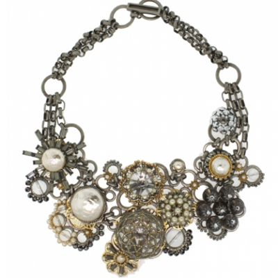 Collage Statement Necklace | LadyLUX - Online Luxury Lifestyle, Technology and Fashion Magazine