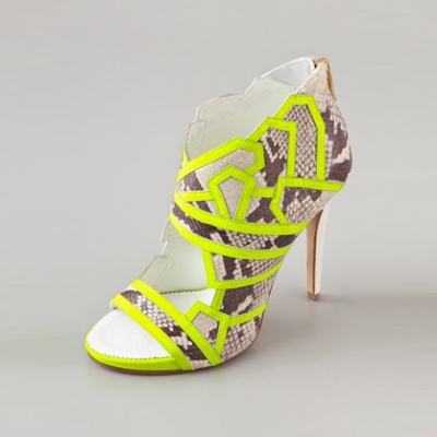 Neon Bootie | LadyLUX - Online Luxury Lifestyle, Technology and Fashion Magazine