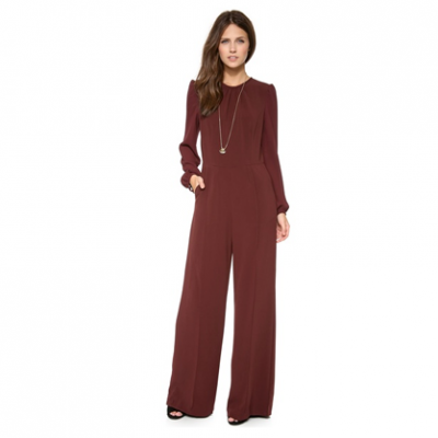 Alluring Wide-Leg Jumpsuit | LadyLUX - Online Luxury Lifestyle, Technology and Fashion Magazine